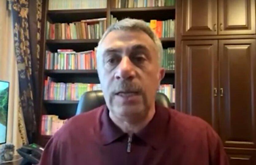Коронавирус в Украине,Евгений Комаровский,Борьба с коронавирусом в Украине