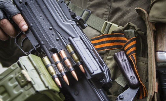 боевики террористы днр лнр