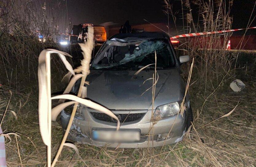 ДТП под Одессой, пьяный водитель, сбил насмерть