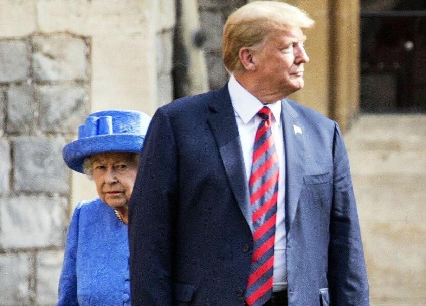 Трамп_Елизавета II
