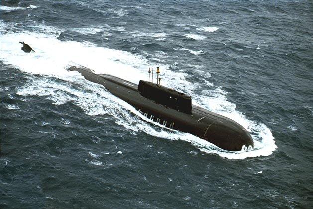 подводная лодка с крылатыми ракетами
