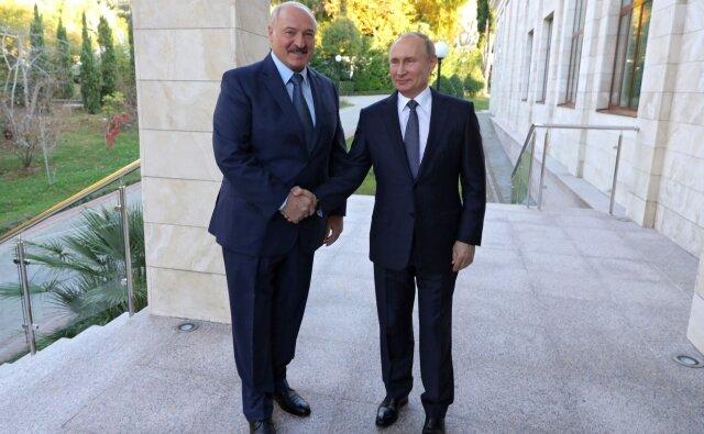 Александр Лукашенко Владимир Путин