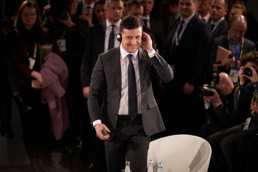 президент украины владимир зеленский на конференции в мюнхене по вопросам безопасности 15 февраля 2020 года