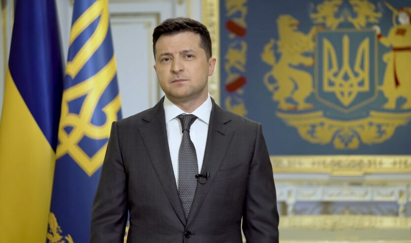 Владимир Зеленский, отвод российских войск от границ Украины, война на Донбассе