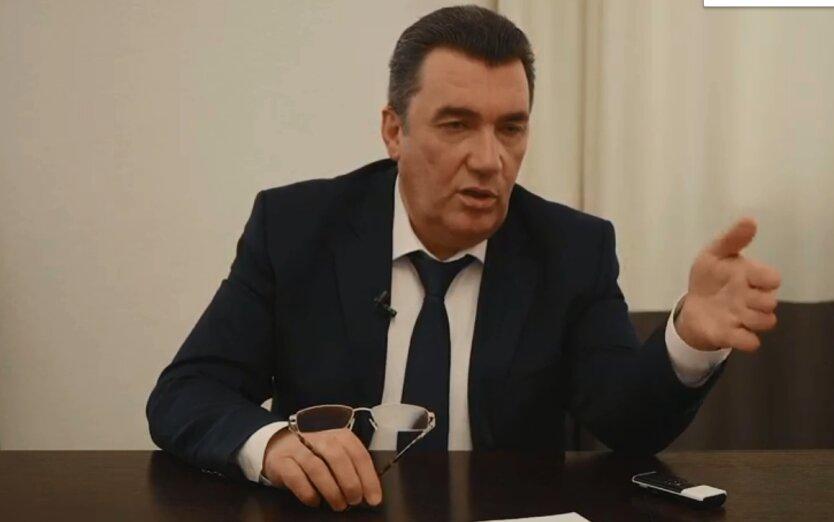 Секретарь Совета национальной безопасности и обороны (СНБО) Алексей Данилов
