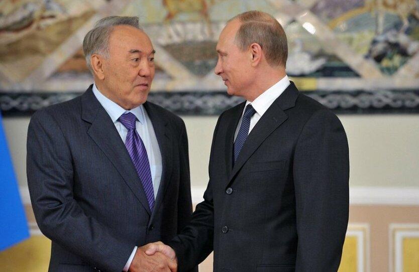 Владимир Путин Нурсултан Назарбаев