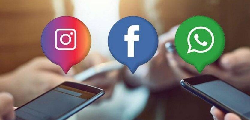 Instagram, Facebook и WhatsApp