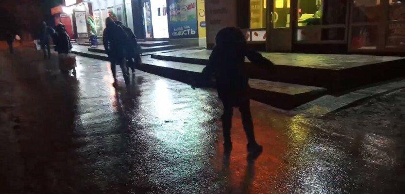 Гололед в Харькове, Зима в Украине, Похолодание в Украине, Погода в Украине