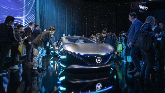 Mercedes Vision Avtr на CES 2020