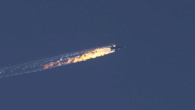 Су-24 сбитый Турцией