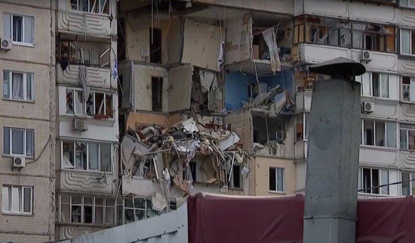 Взрыв дома на Позняках: в одной из квартир нашли склад оружия и боеприпасов