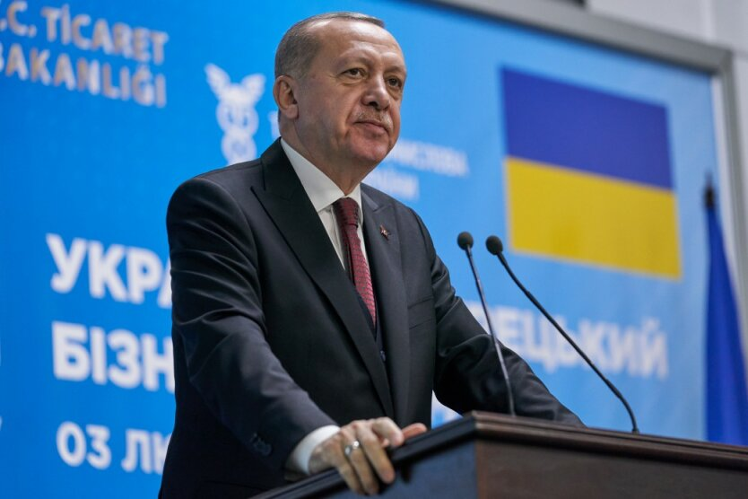 Реджеп Эрдоган 3 в Украине