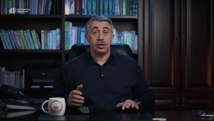 Евгений Комаровский, коронавирус, повторное заболевание