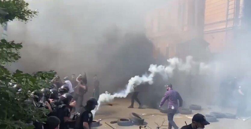 Протесты под Офисом президента Украины