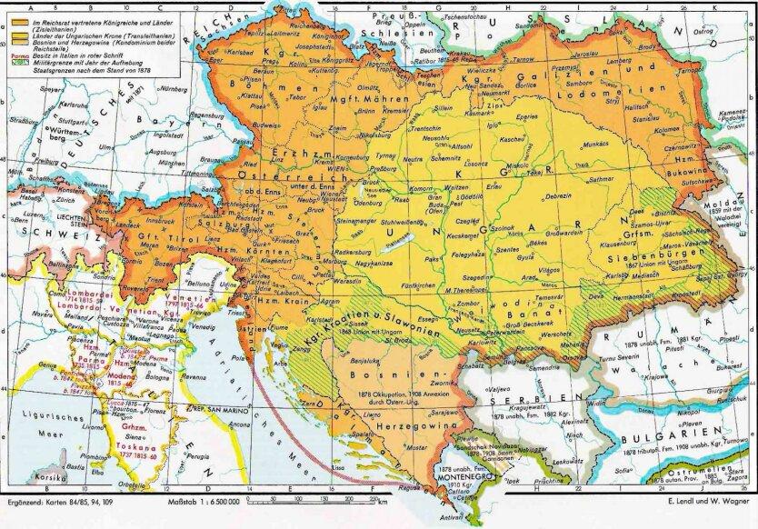 Тень империи Габсбургов над Центральной и Восточной Европой
