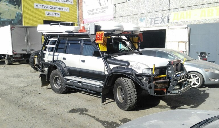Внедорожник, Toyota Land Cruiser 80, тюнинг