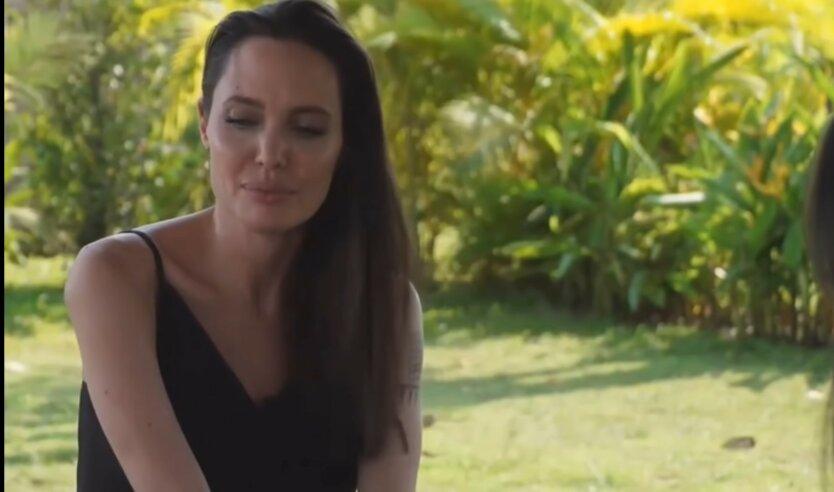 Анджелина Джоли, The Weeknd , засекли вместе