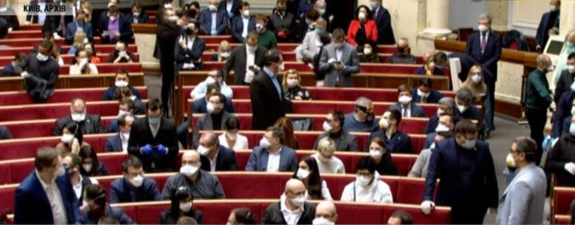 Заседание Верховной Рады Украины, коронавирус, данные больных коронавирусом