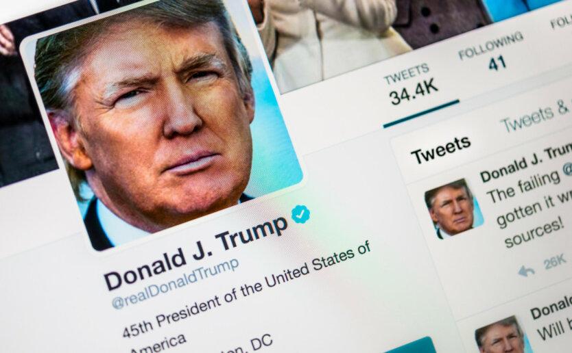 Twitter-аккаунт Дональда Трампа