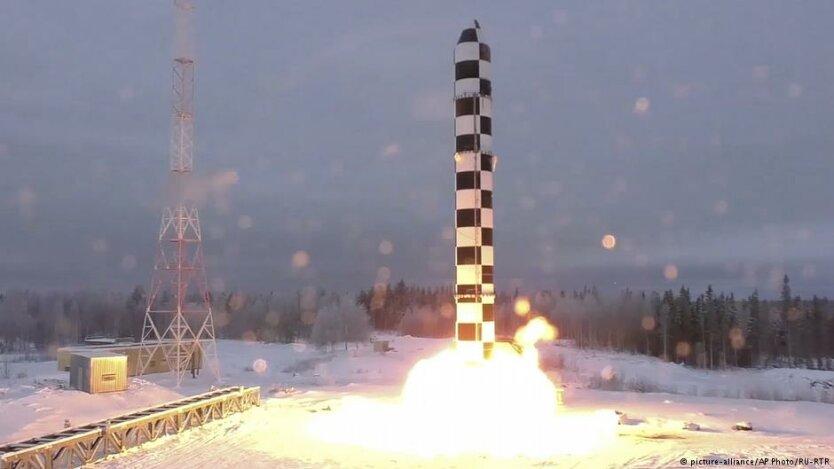 ракета Сармат_РФ