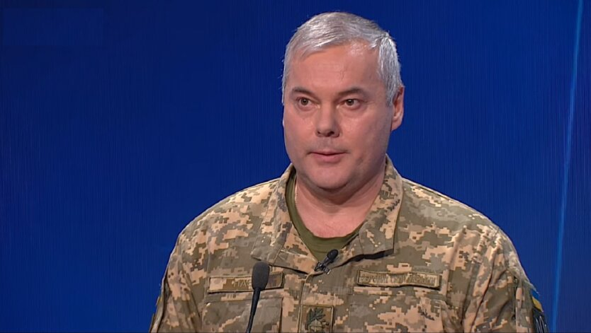 Командующий Объединенных сил ВСУ генерал-лейтенант Сергей Наев