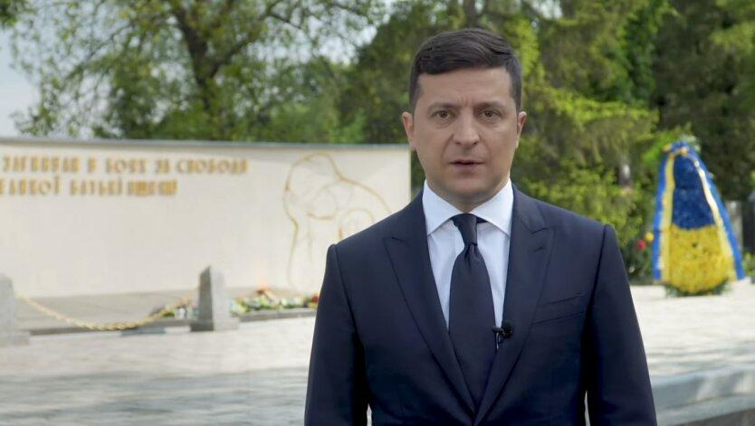 Президент Украины Владимир Зеленский, зеленский о карантине, карантин в украине