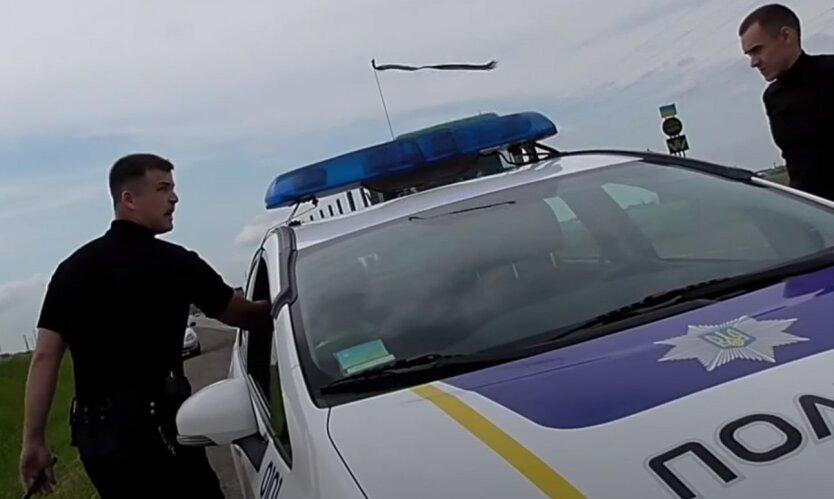 В Ровно пьяная полицейский наехала на людей