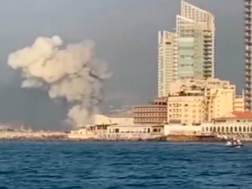В Минздраве Ливана назвали причину мощнейшего взрыва в порту Бейрута