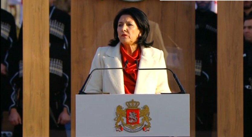 Саломе Зурабишвили, назначение Саакашвили, отзыв пола Грузии в Украине