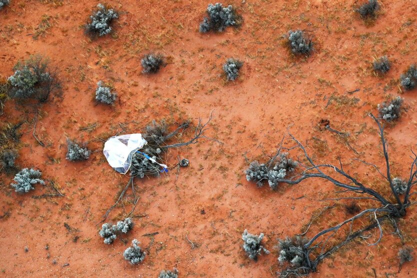 Порода с астероида Рюгу