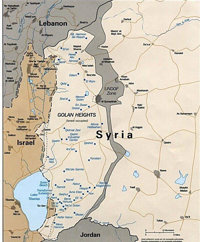 Израиль_Голанские высоты