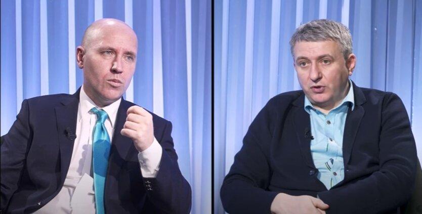 Руслан Бизяев и Юрий Романенко