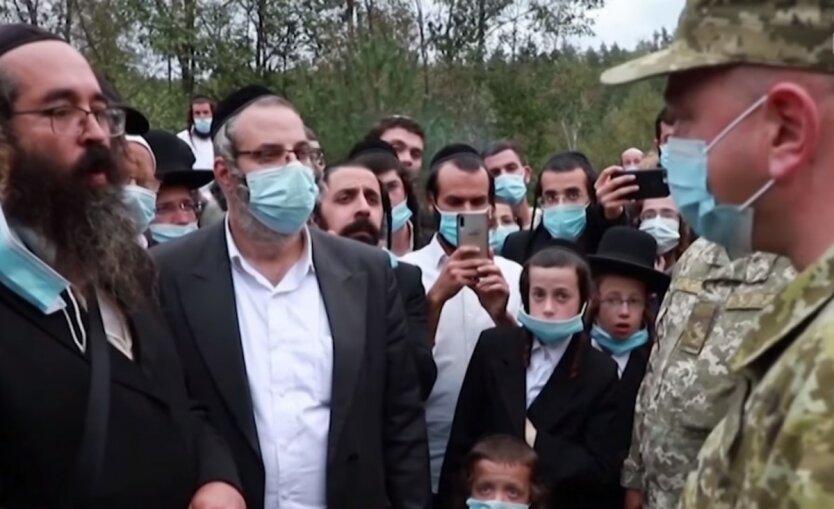 Паломничество хасидов в Украину,Рош ха-Шана,Хасиды на границе с Украиной