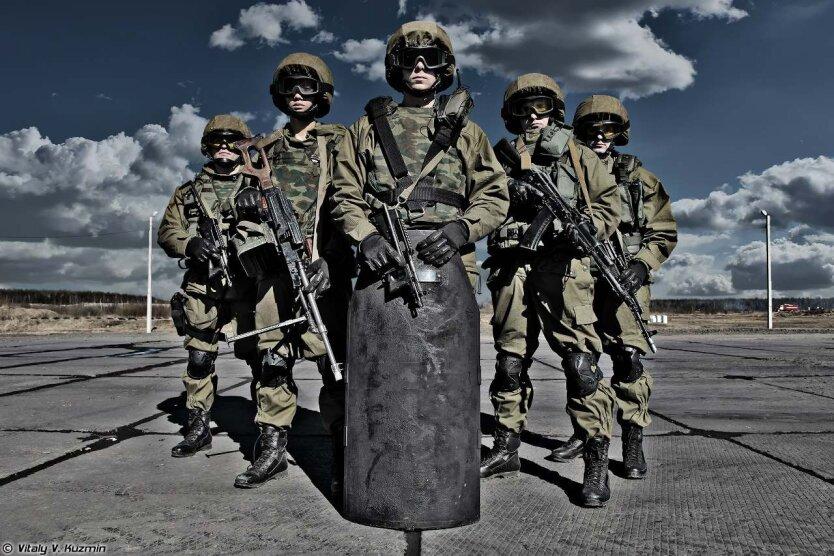 российские военные, ВВ МВД РФ