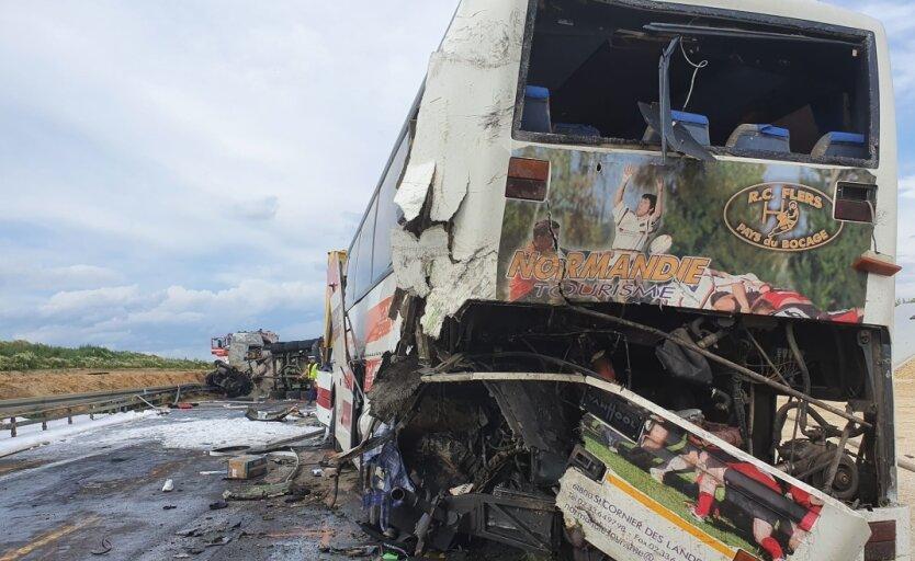 Автобус, украинцы, ДТП, Польша