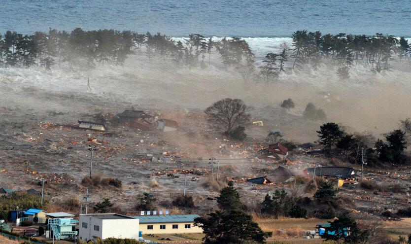 Фото и видео землетрясения в Японии - ХВИЛЯ