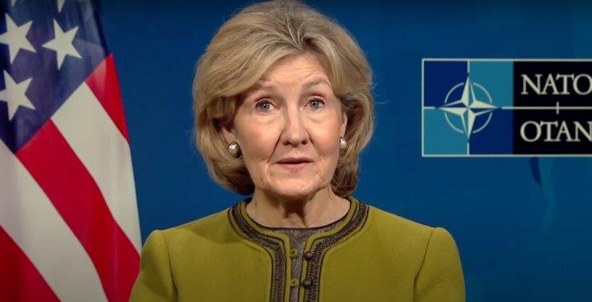 Кэй Бэйли Хатчисон,вступление Украины в НАТО,посол США в Украине,интересы НАТО в Украине