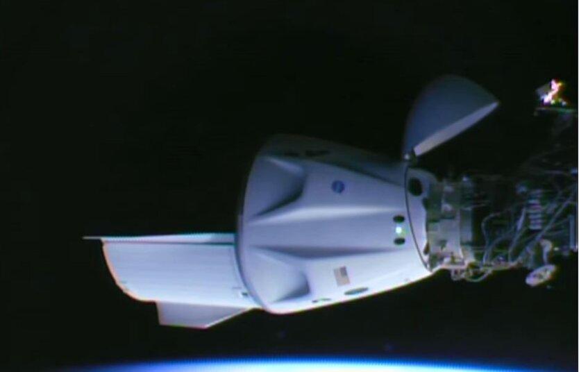 SpaceX Илона Маска показала стыковку Crew Dragon к МКС