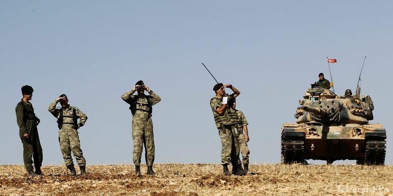 турецкие военные танки в сирии