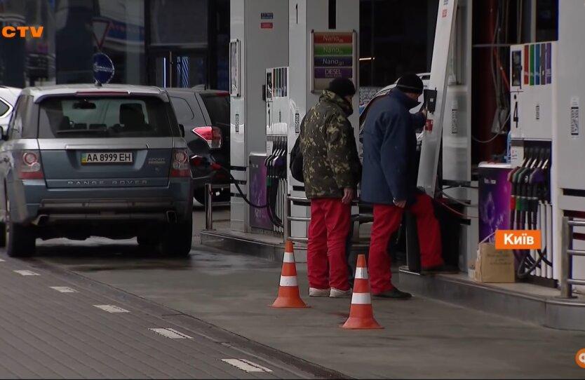 Бензин в Украине, цен на топливо, автогаз и дизель