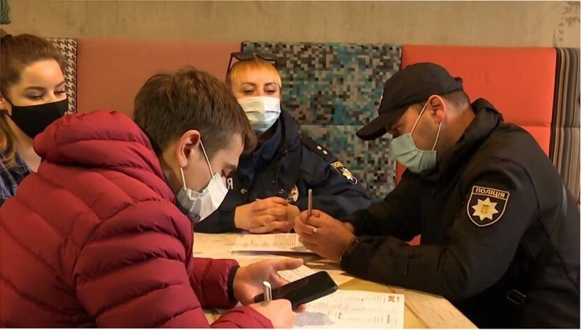 Карантин выходного дня в Украине, Нарушение карантина выходного дня, Денис Бигус