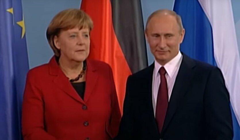 Меркель и Путин обсудили выполнение договоренностей по Донбассу