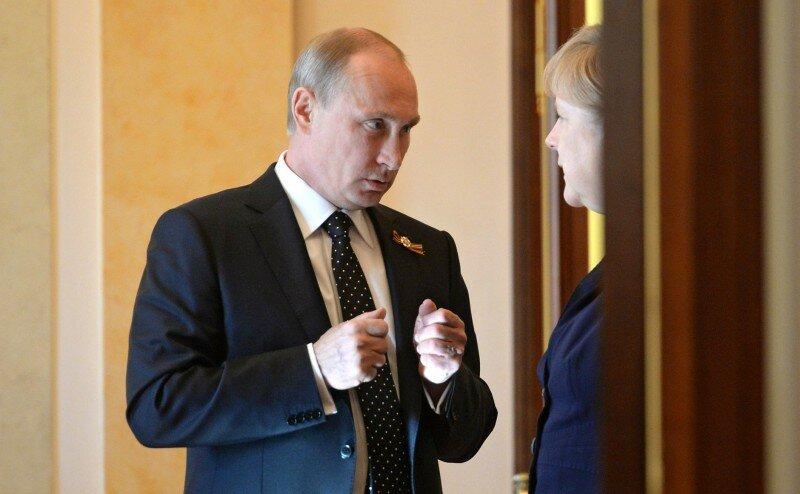 Владимир Путин Ангела Меркель