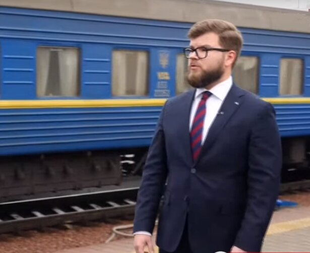 глава «Укрзализныци» Евгений Кравцов