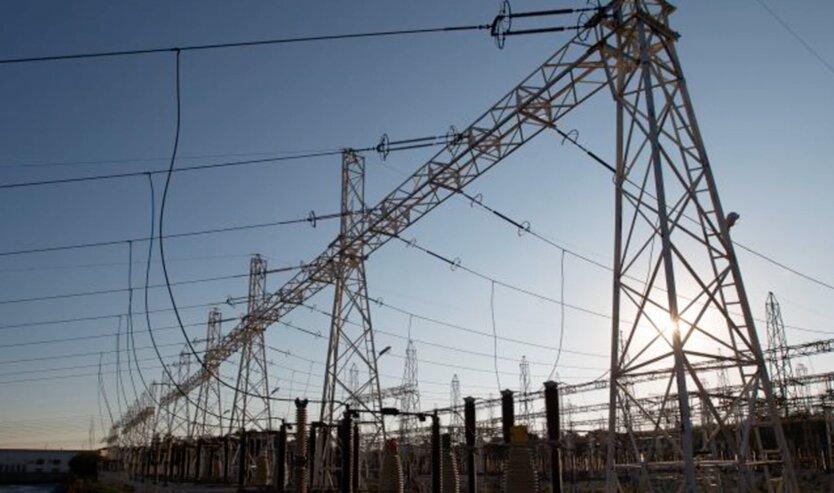 Импорт электроэнергии в Украину из России и Беларуси