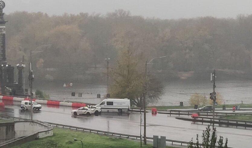 Минирование, Киев, мост Патона
