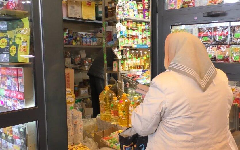 Подсолнечное масло в Украине, крупные супермаркеты обновили цены, Минфин