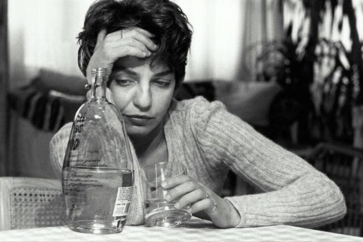 алкоголь женщина
