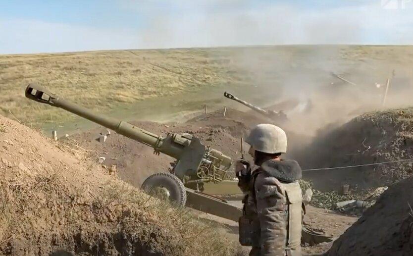 Бои в Нагорном Карабахе, армения азербайджан