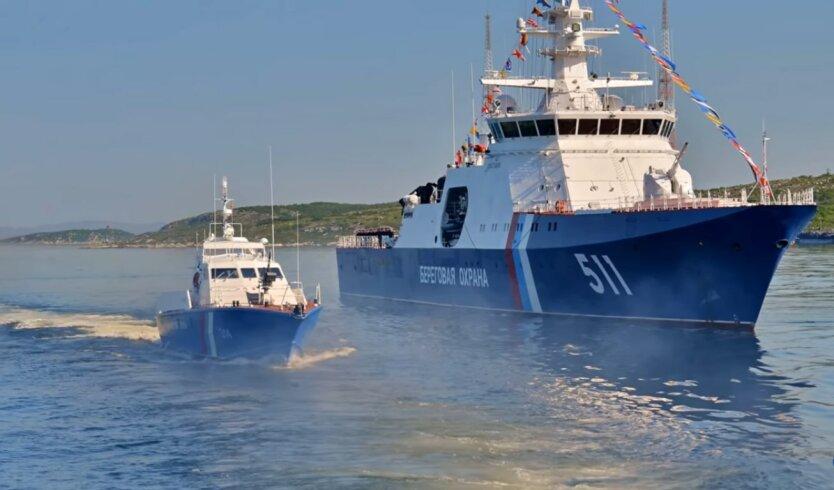 Береговая охрана РФ, украинские моряки, провокация
